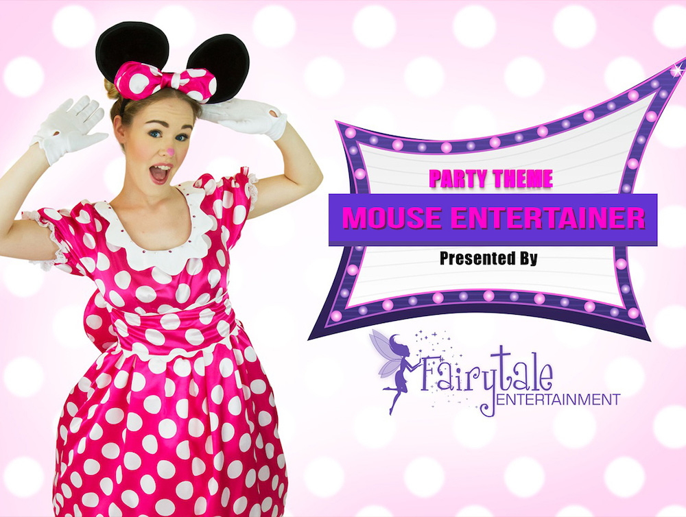 Minnie Mouse Party Character for Kids Birthday
