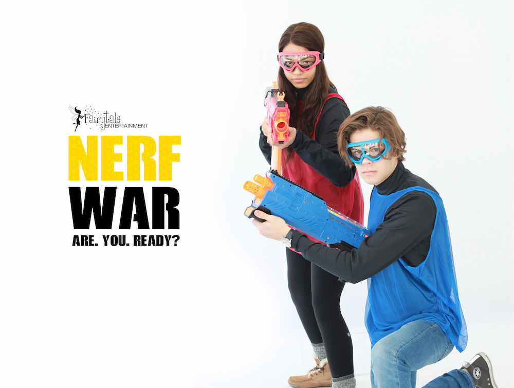 Nerf Gun Party, Rent Nerf Guns