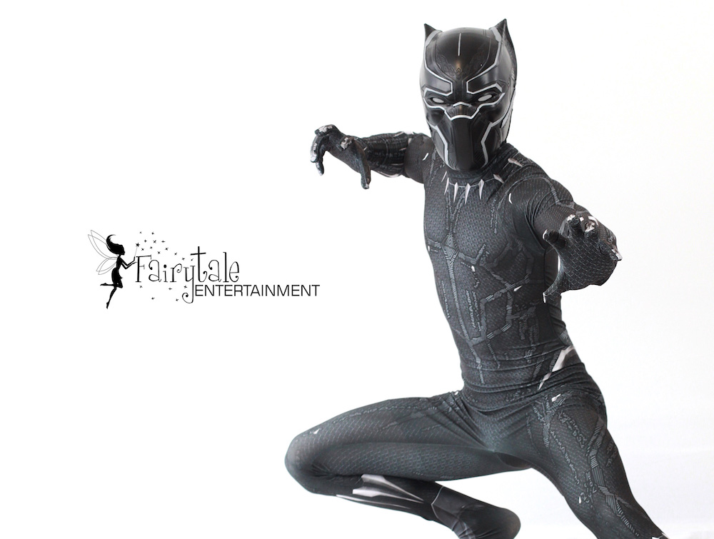 Rent Black Panther Character Performer