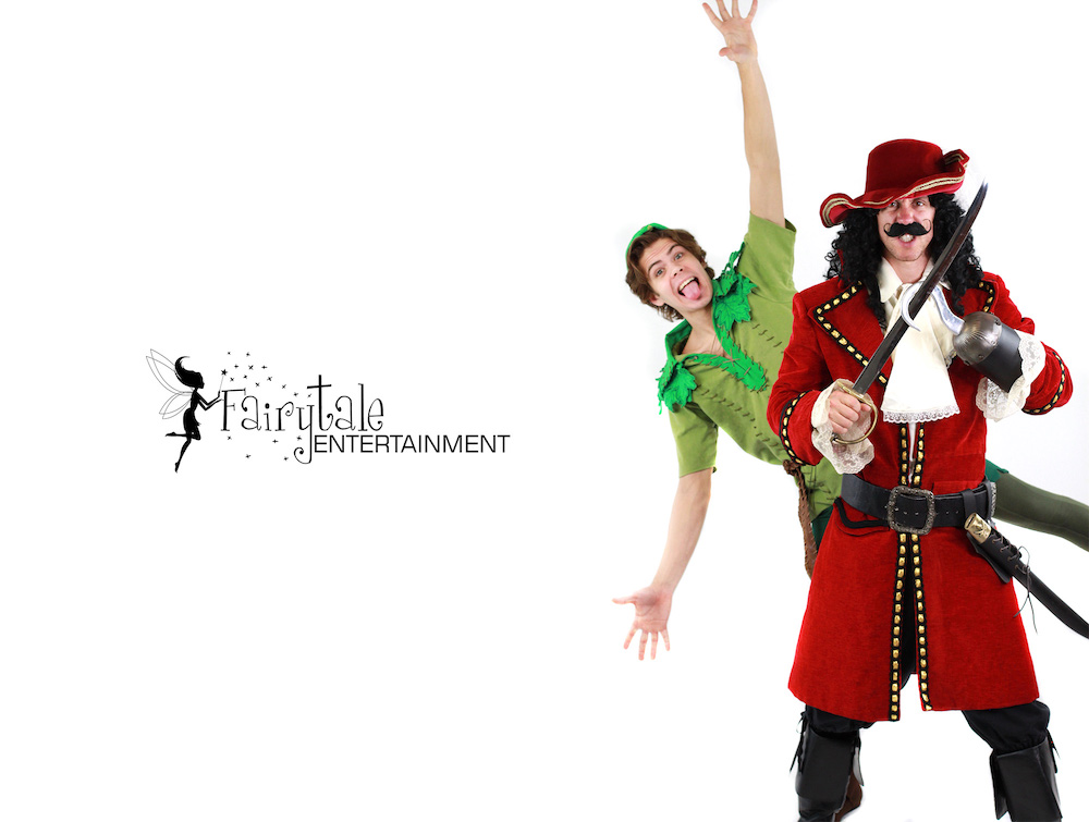 hire captain hook for kids birthday party