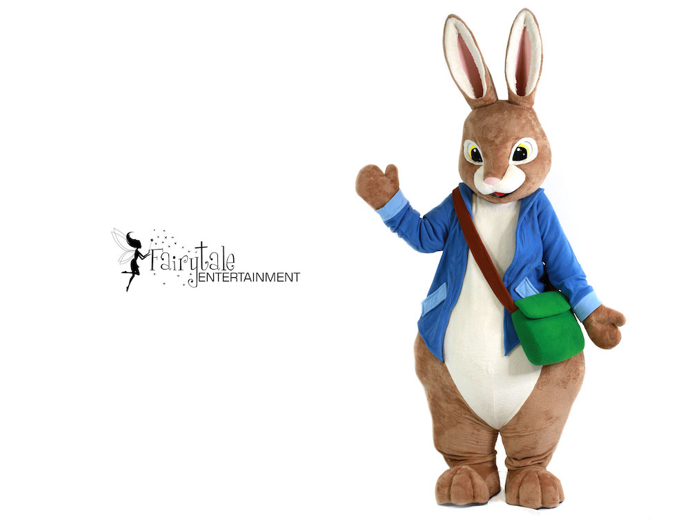 peter rabbit easter bunny for hire