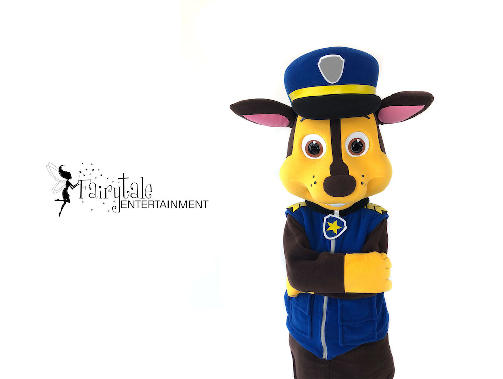 rent paw patrol chase party character in naperville illinois, rent paw patrol chase party character in auburn hills michigan