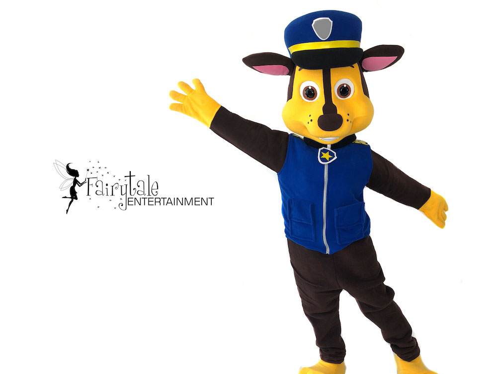 rent chase from paw patrol for kids party in grand rapids michigan