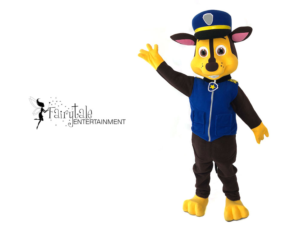 paw patrol chase party character for hire