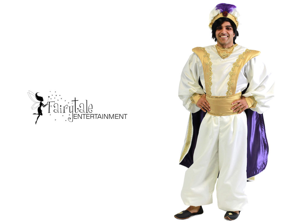 Disney Aladdin Party Character for Hire, Aladdin Character Party, Disney Prince Ali for Hire