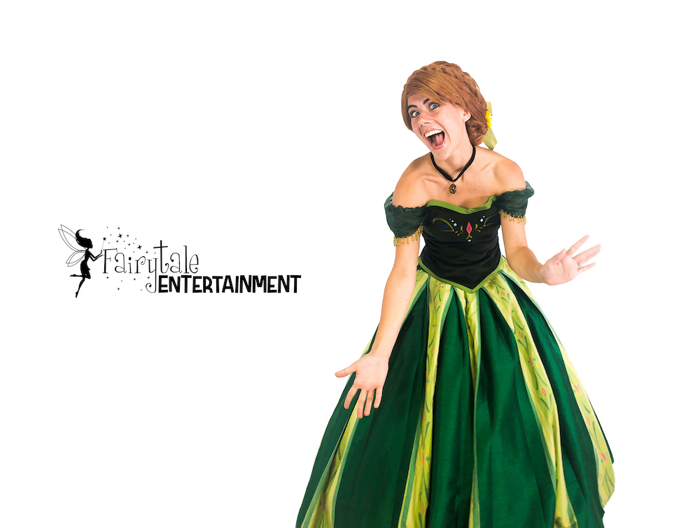 rent anna from frozen for kids party