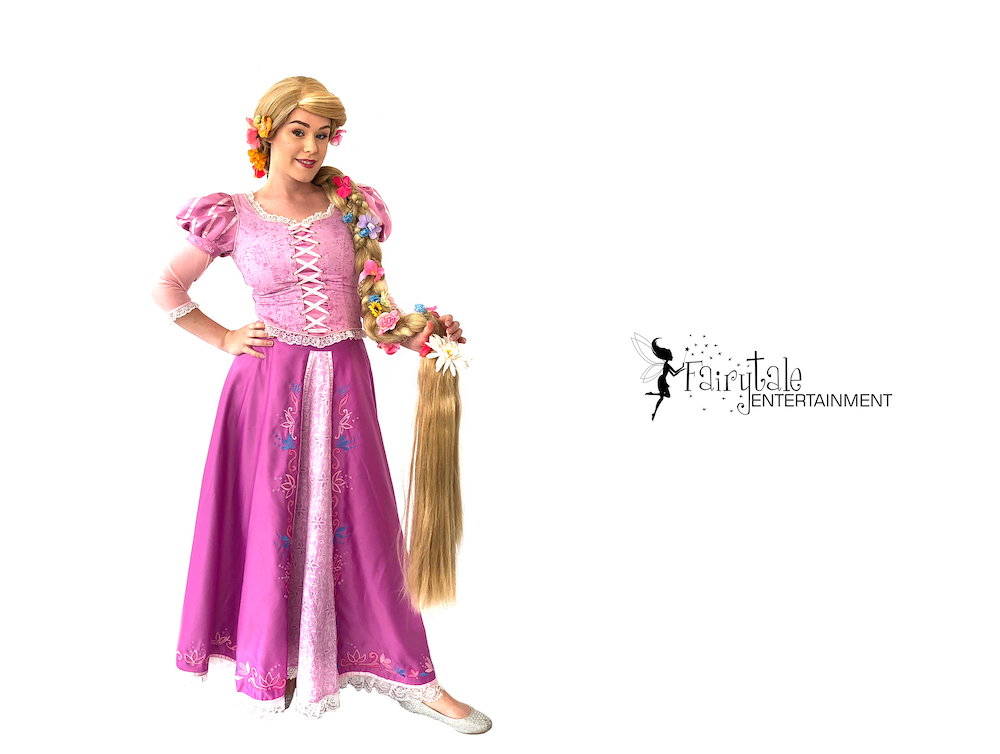 rapunzel birthday party character visit Grand Rapids