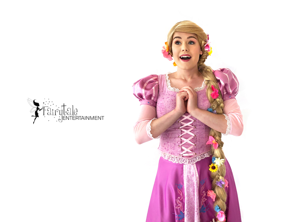 hire rapunzel princess party character for kids