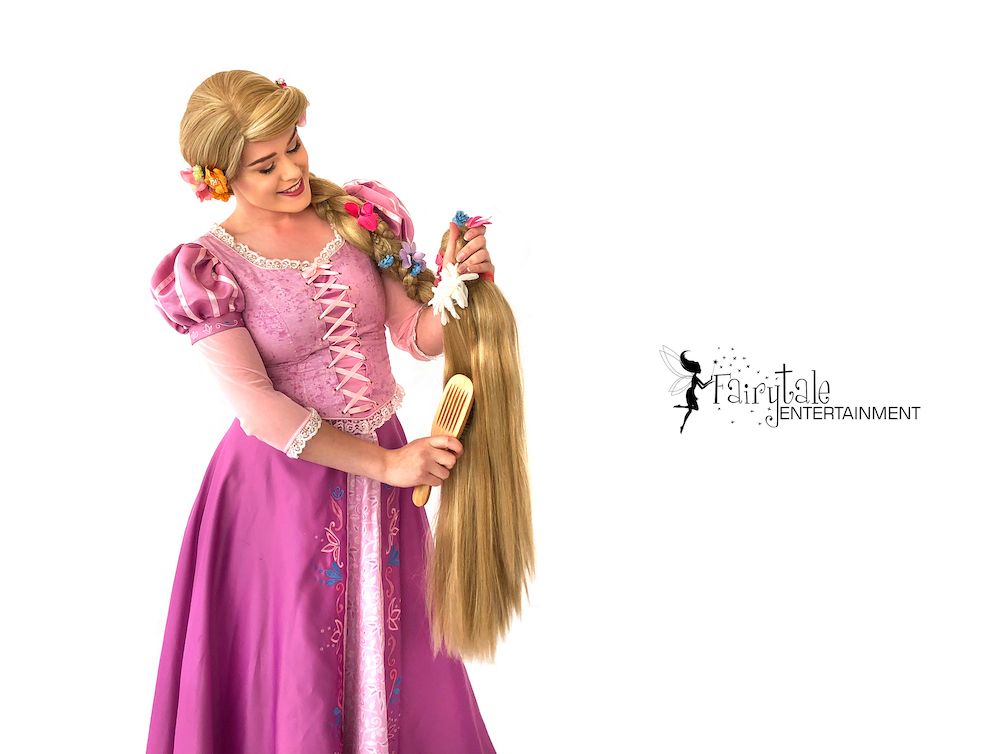 hire rapunzel princess party character for kids Gand Rapids