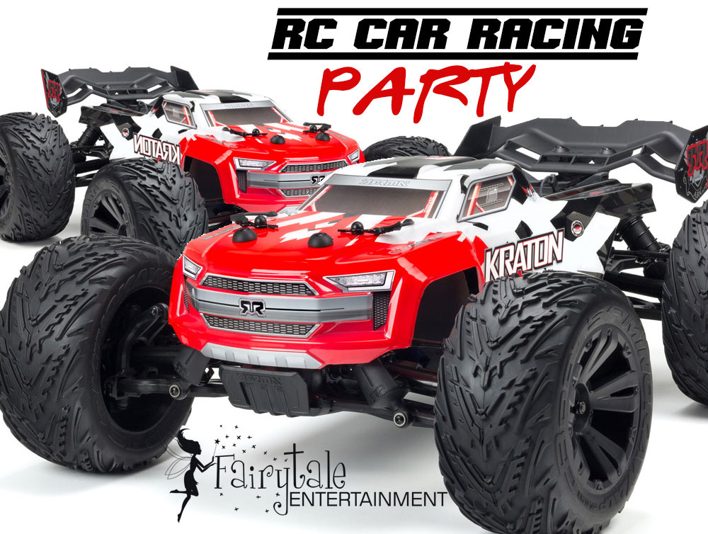 Remote Control Car Racing Party for Kids Birthday in Michigan and Illinois