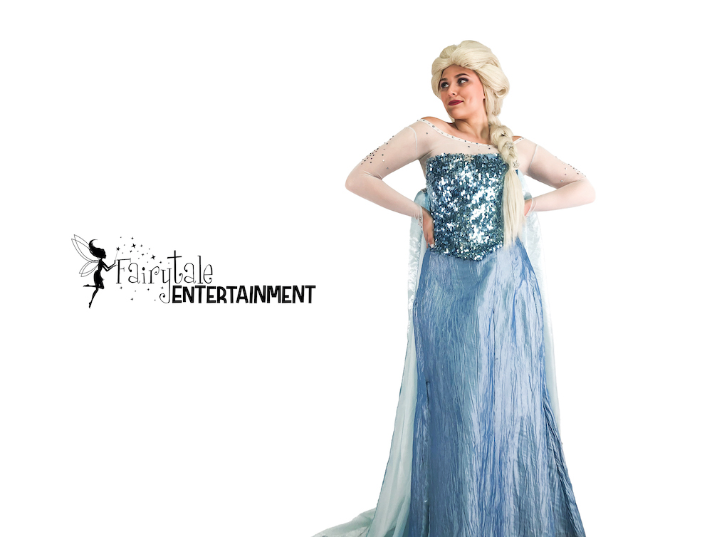 Elsa Party Appearance / Frozen Characters for Birthday Party