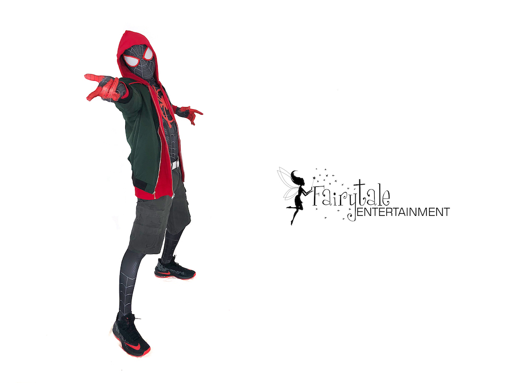 rent spiderman miles morales spiderverse characters Grand Rapids