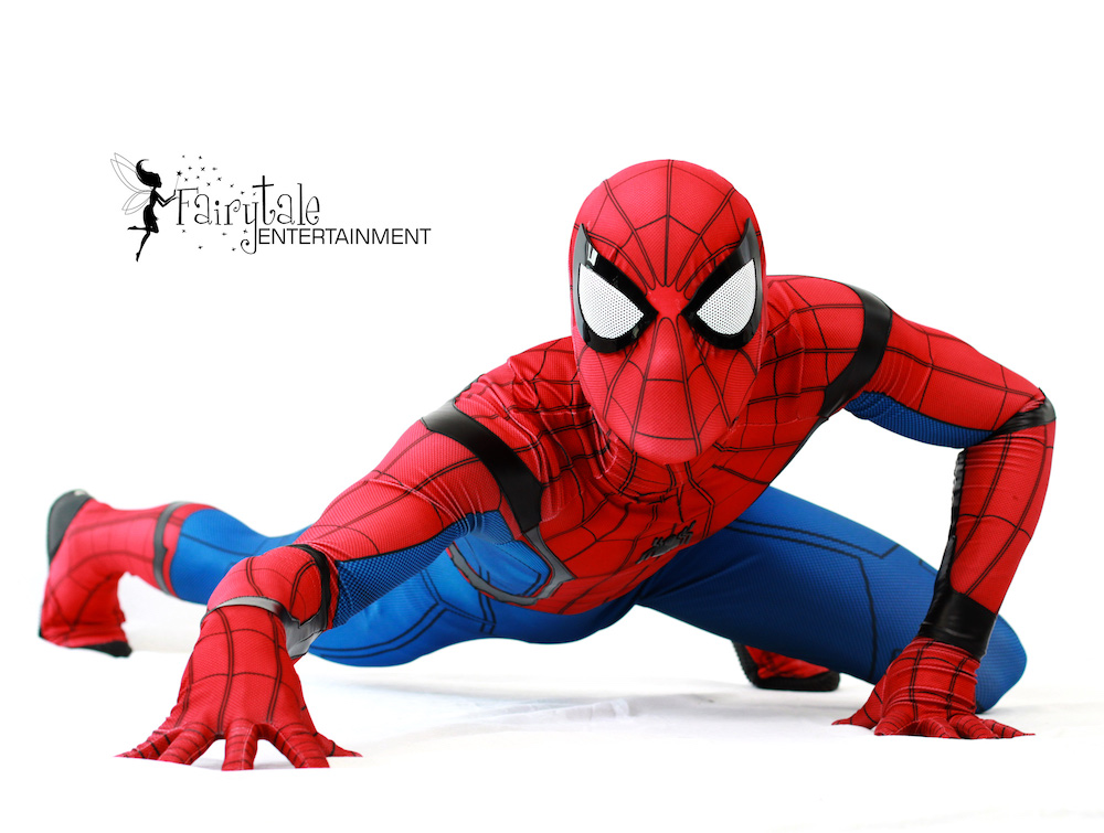 Spiderman Childrens party entertainers