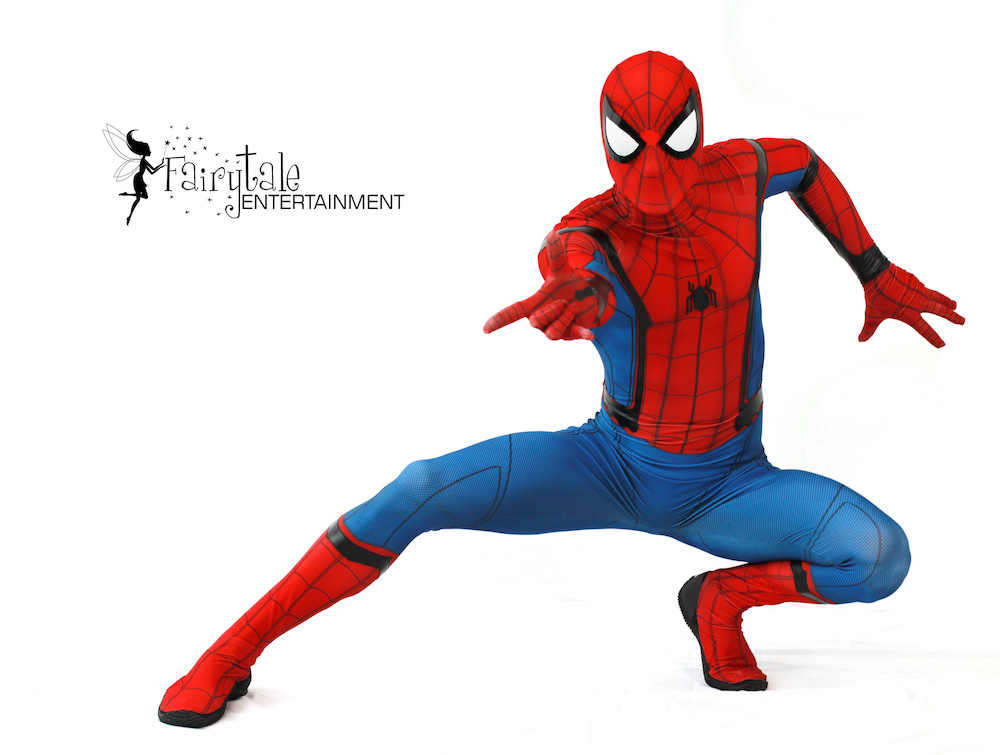 Spiderman character performer in auburn hills michigan