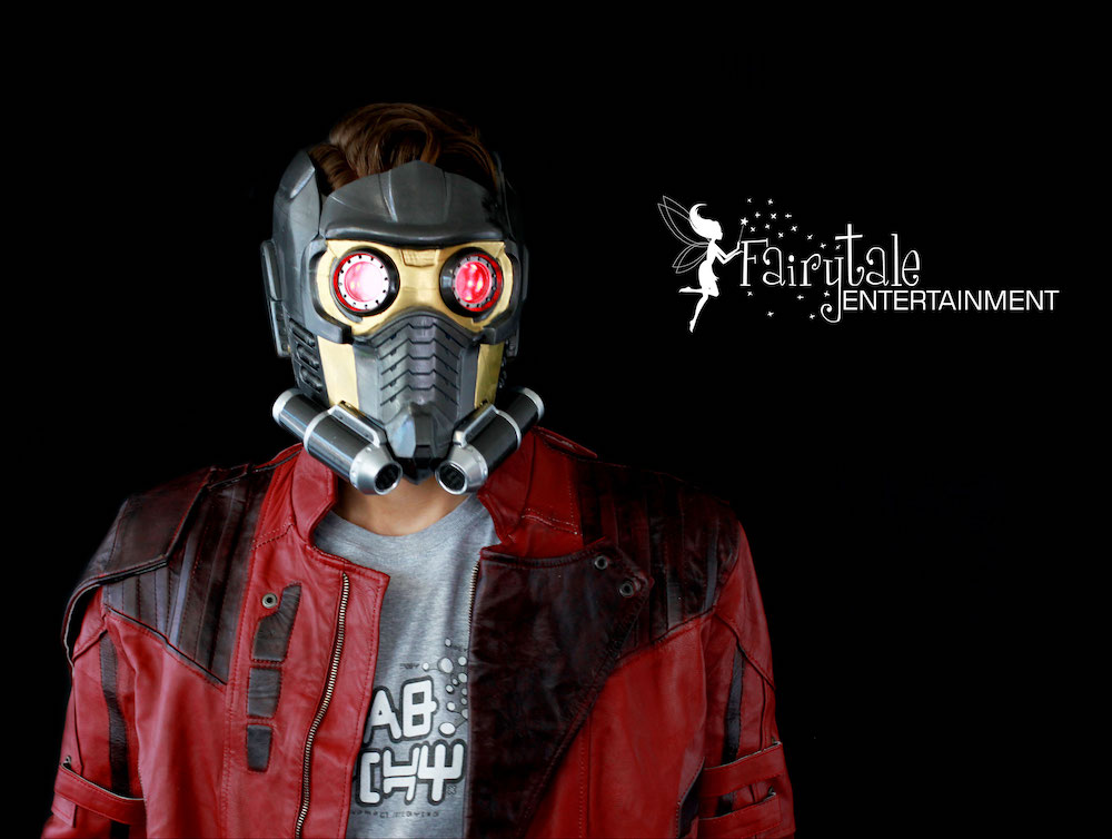 star lord superhero party character