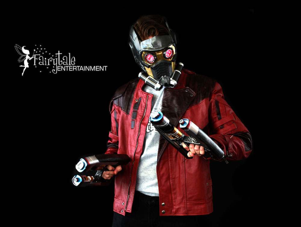 rent star lord superhero character for birthday party