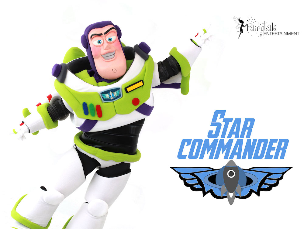 rent buzz lightyear party character for kids