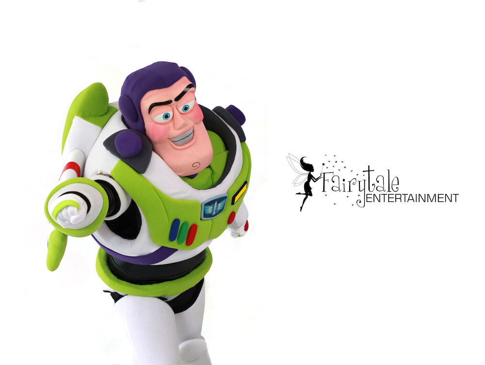 rent buzz lightyear from toy story for kids birthday party