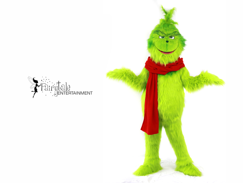 Hire Grinch Performer in Naperville, Rent the Grinch for Christmas Party in Naperville, Grinch Character Performer in Naperville, Grinch Character for Christmas Party in Naperville, Entertainment for Corporate Christmas Party in Naperville