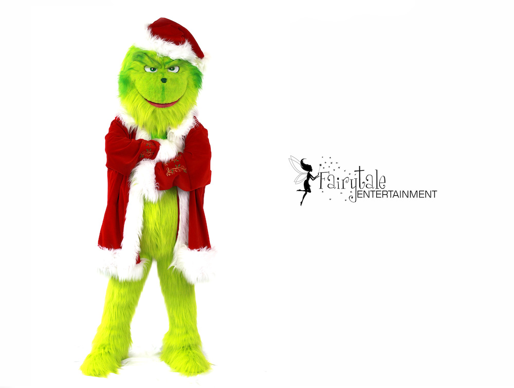 Hire Grinch Performer in Grand Rapids, Rent the Grinch for Christmas Party in Grand Rapids, Grinch Character Performer in Grand Rapids, Grinch Character for Christmas Party in Grand Rapids, Entertainment for Corporate Christmas Party in Grand Rapids