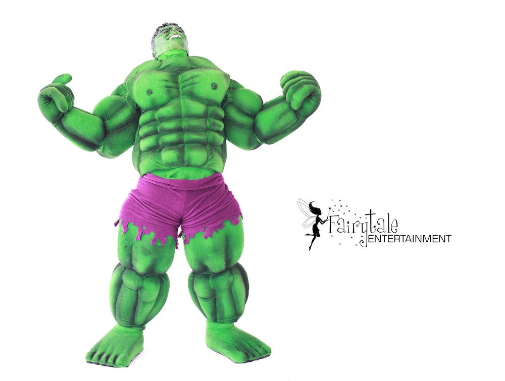 Marvel Hulk Character for Hire, Rent Hulk Character for Kids Party