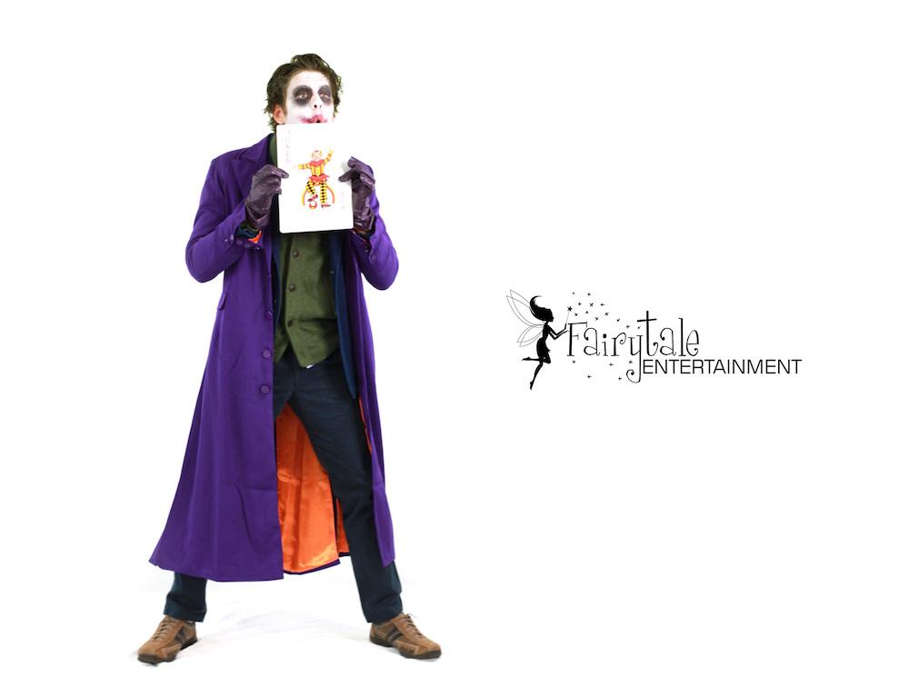 Joker Character in aurbun hills Michigan, Joker Character in Naperville Illinois,Joker Character Byron Center in Grand Rapids