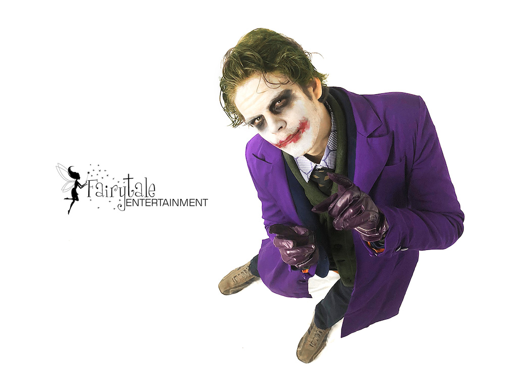 Joker for Hire in Troy Michigan, Joker for Hire in Chicago Illinois,Joker for Hire Los angeles in California