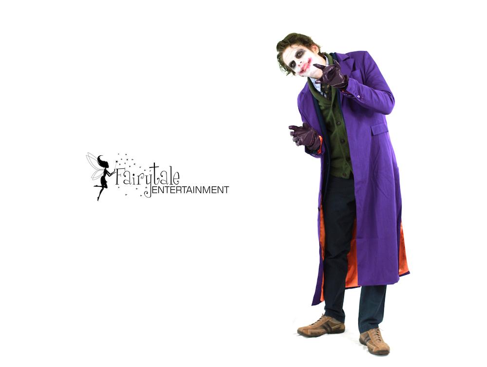 Rent Joker Character Performer in aurbun hills Michigan, Rent Joker Character Performer in Naperville Illinois,Rent Joker Character Performer Byron Center in Grand Rapids