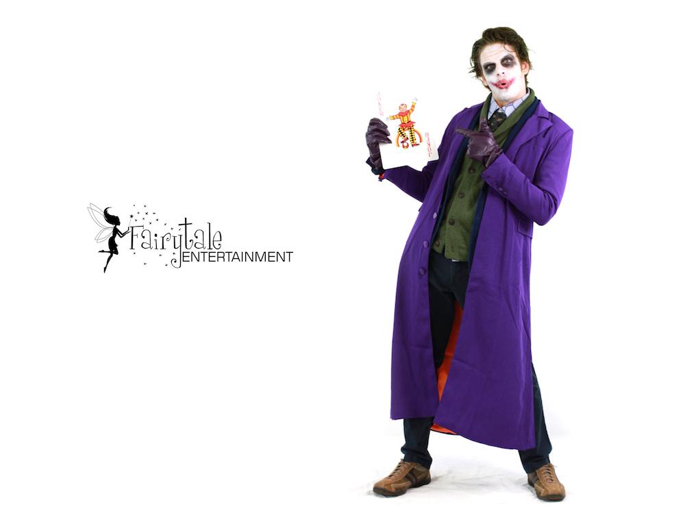 Local Joker Performer in aurbun hills Michigan,  Local Joker Performer in Naperville Illinois, Local Joker Performer Santa Ana in California