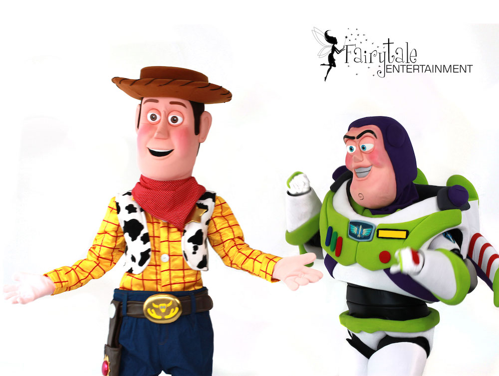 rent woody from toy story for kids birthday party