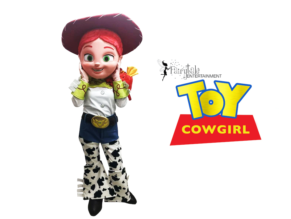 Rent Jessie toy story characters for kids birthday parties in michigan and illinois