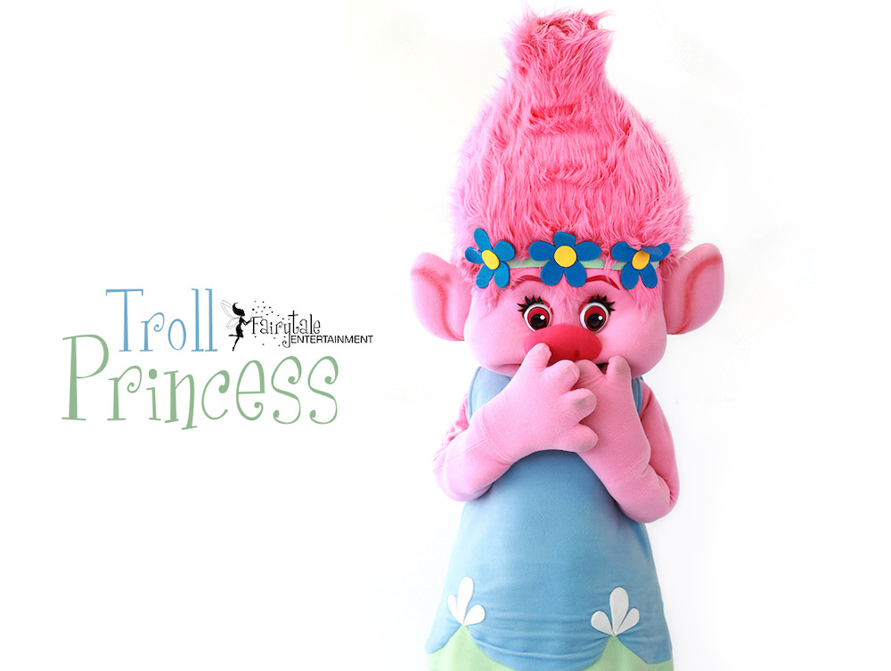 Trolls Poppy Party Character for Kids