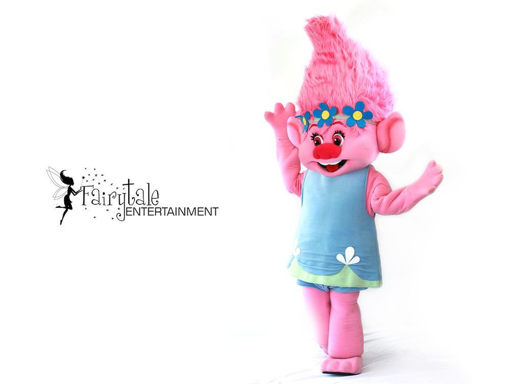 Hire a Troll for Kids Character Party
