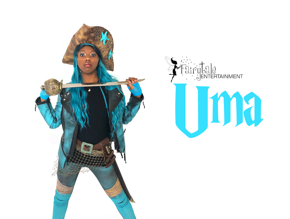 Hire uma descendants party character for kids birthday