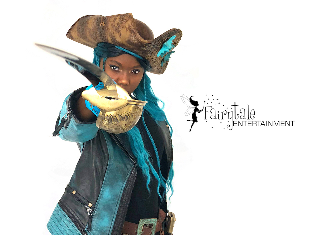 uma pirate character from descendants for kids party