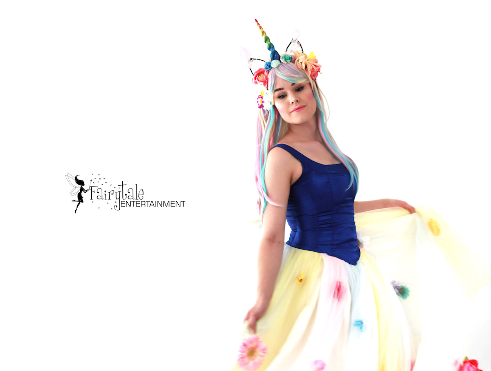 Rent Unicorn Princess Character