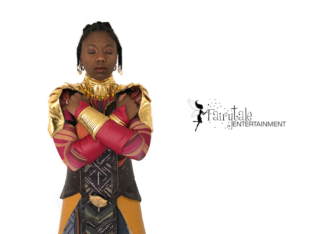 hire wakanda warrior and black panther for kids birthday party Grand Rapids