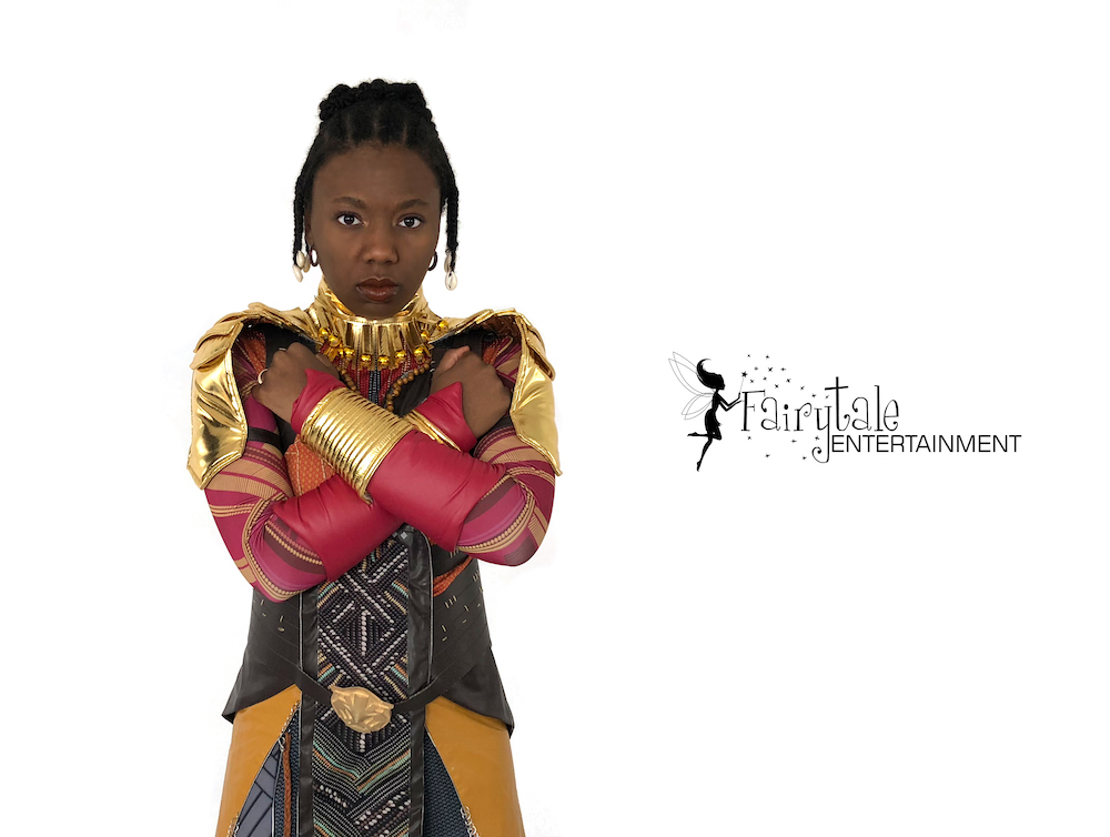 wakanda warrior for kids birthday party