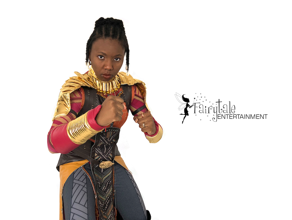 rent wakanda warrior superhero party character, hire wakanda warrior and black panther for kids birthday party, wakanda warrior for kids birthday party
