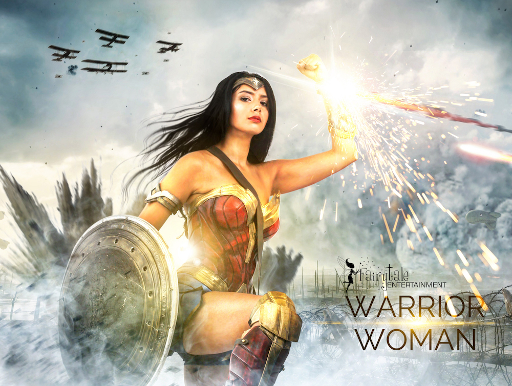 Justice League Superheroes for Hire,Hire Wonder Woman from Justice League Movie