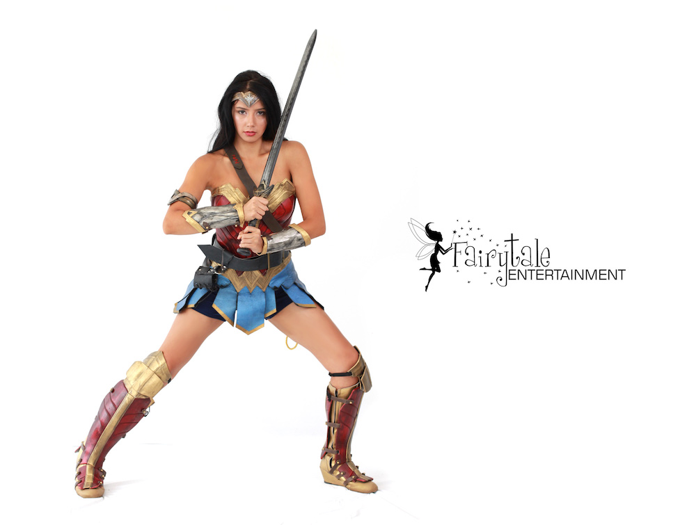 Hire Wonder Woman for Kids Superhero Party