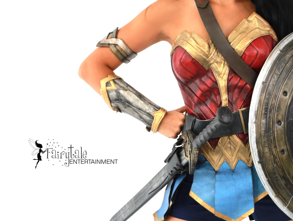 Hire Wonder Woman Character in Detroit Michigan