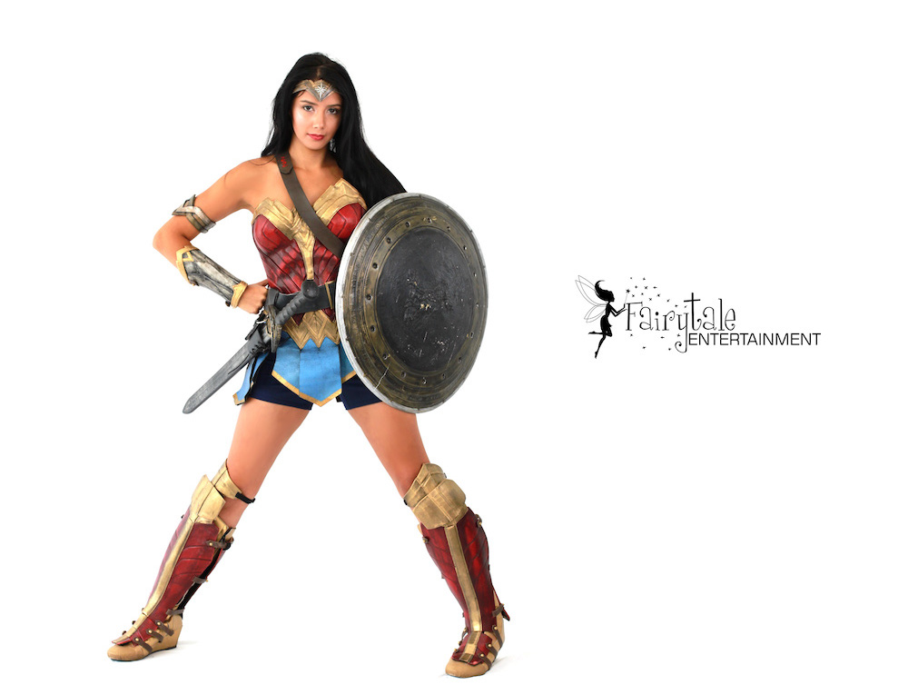Hire Wonder Woman Character in Chicago Illinois