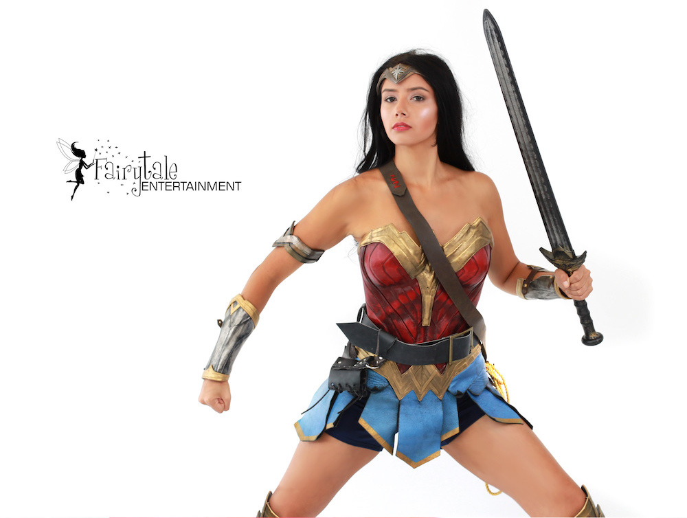 Wonder Woman Superhero Performer for Hire