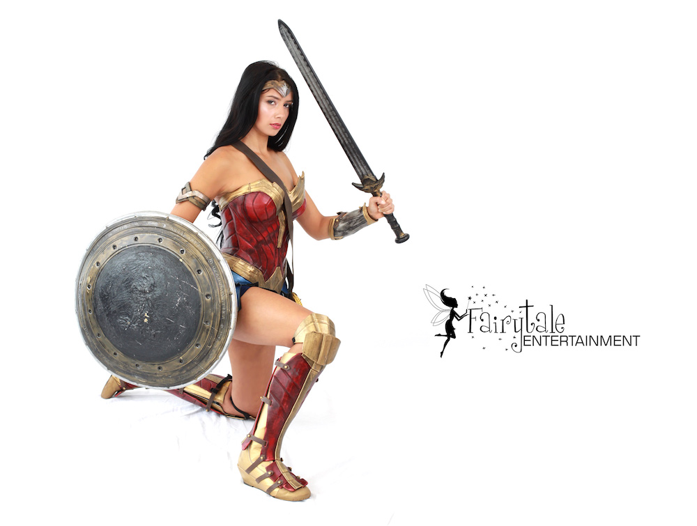 Rent Wonder Woman Superhero Character for Kids Party
