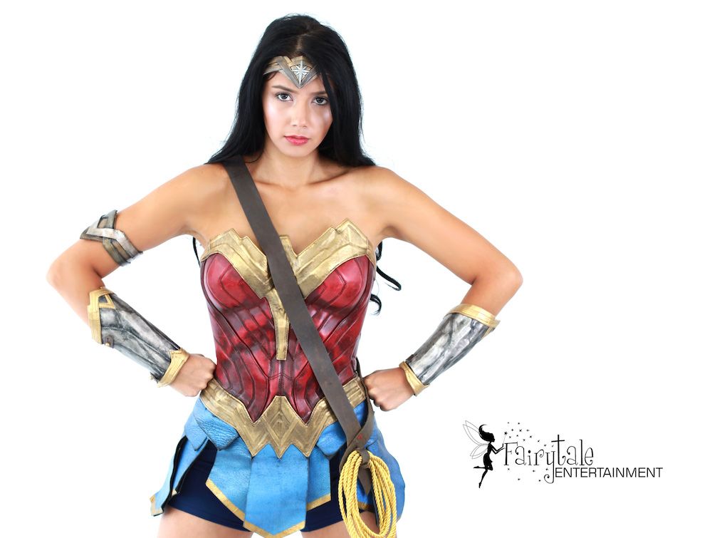 Hire Wonder Woman Entertainer for Parties and Events