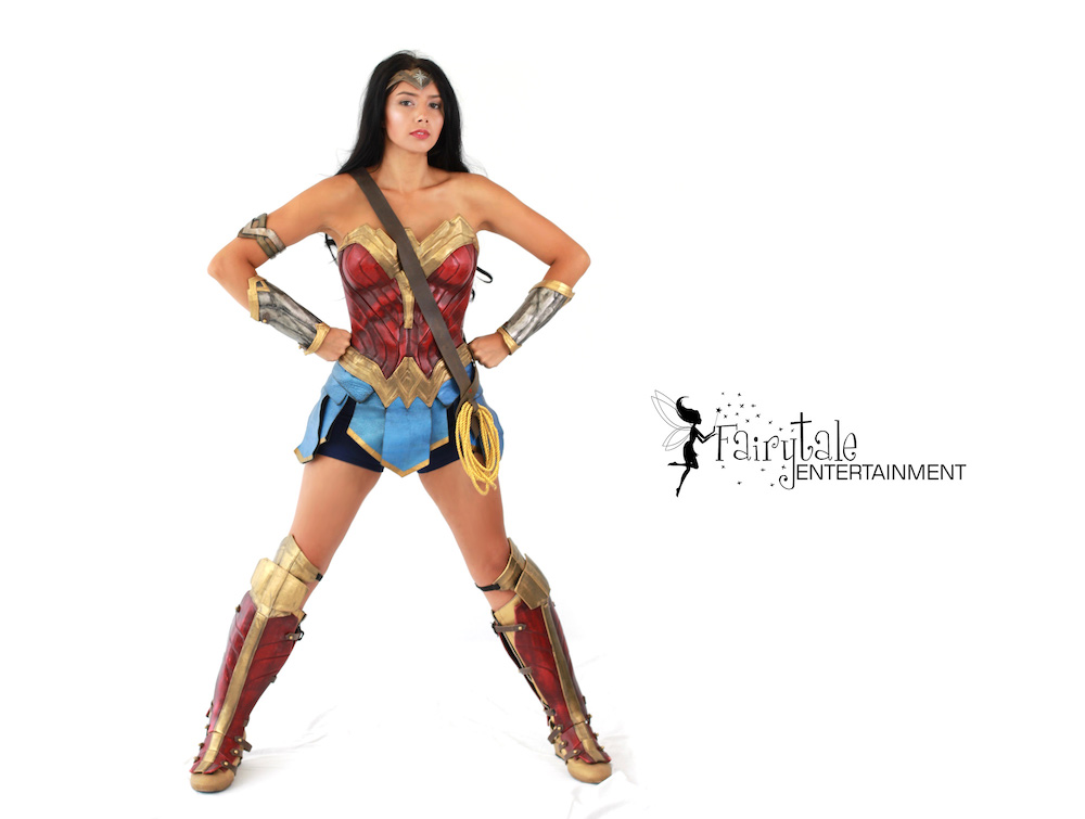 Wonder Woman Superhero Party Character for Hire