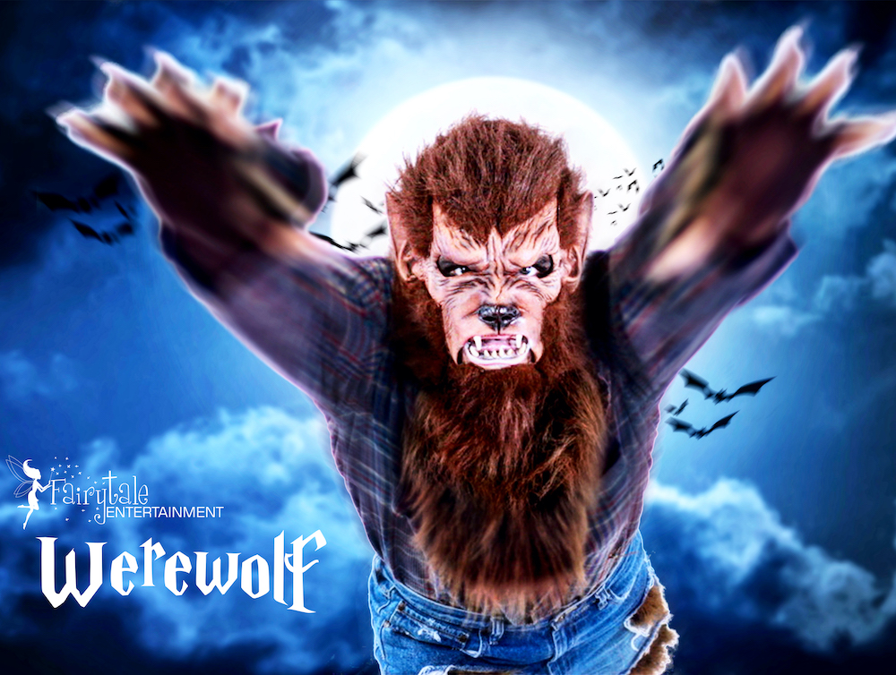 Werewolf Character for Hire in Michigan, Werewolf Character for Hire in Chicago, Werewolf Character for Hire in California