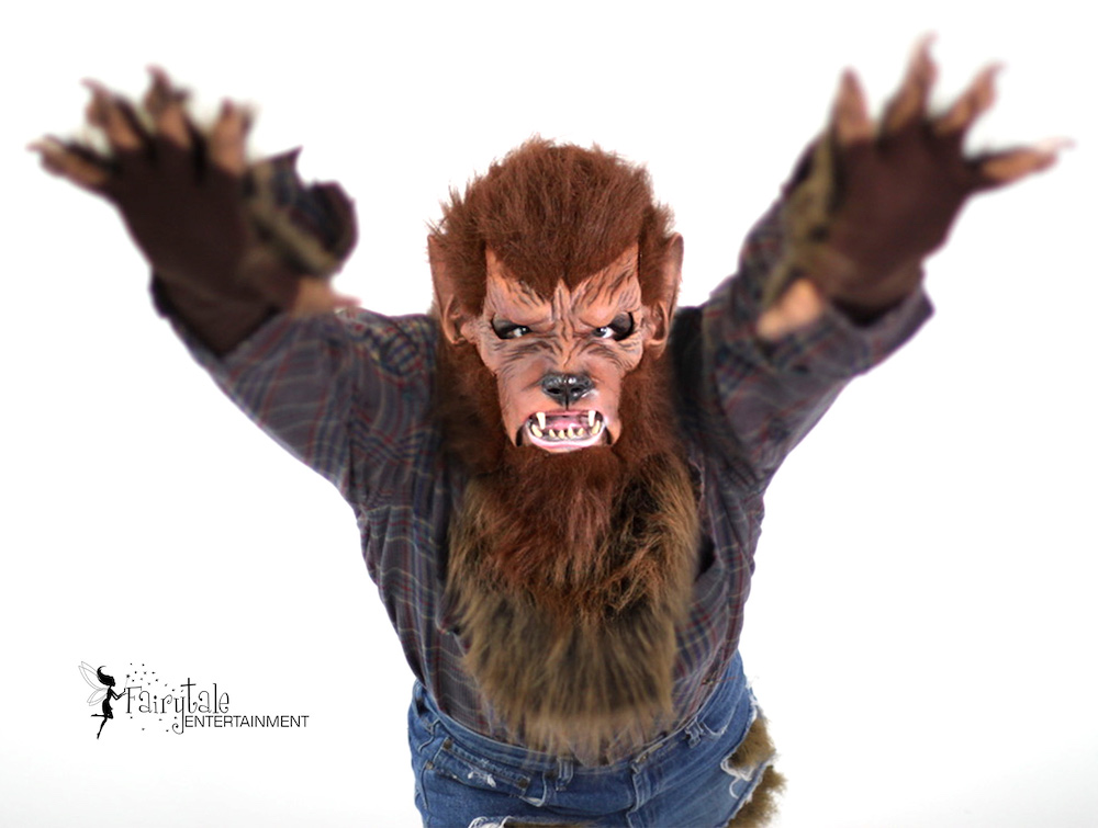 Werewolf Character for Hire in Michigan, Werewolf Character for Hire in Chicago, Werewolf Character for Hire in Grand Rapids
