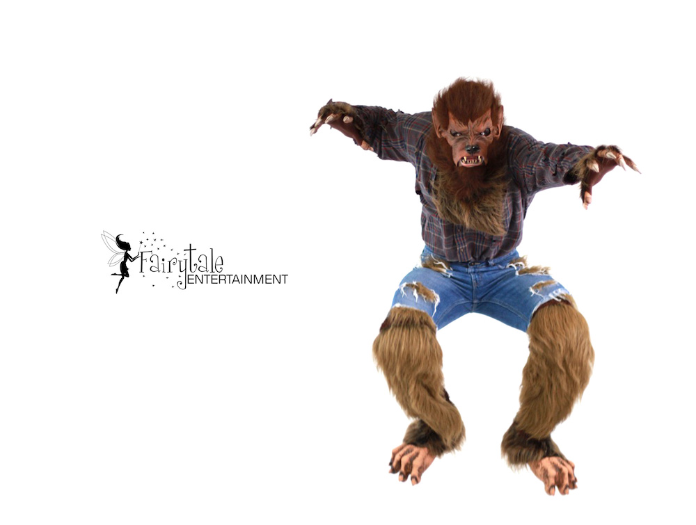 Wolf Man Character for Halloween Party in Michigan, Wolf Man Character for Halloween Party in Chicago , Wolf Man Character for Halloween Party in california